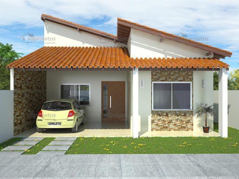Como escolher o melhor tipo de telhado para a sua s for Fotos de casas modernas com telhado aparente