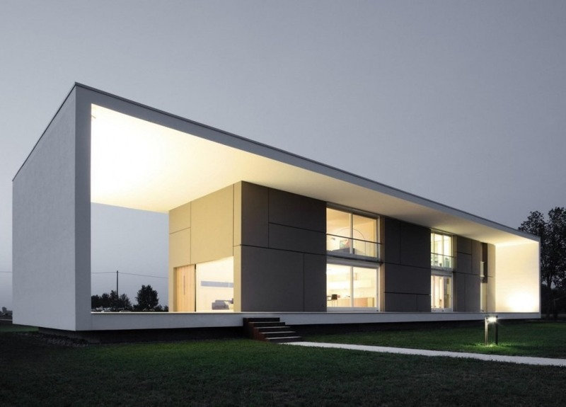 Como escolher o melhor tipo de telhado para a sua s for Render casa minimalista