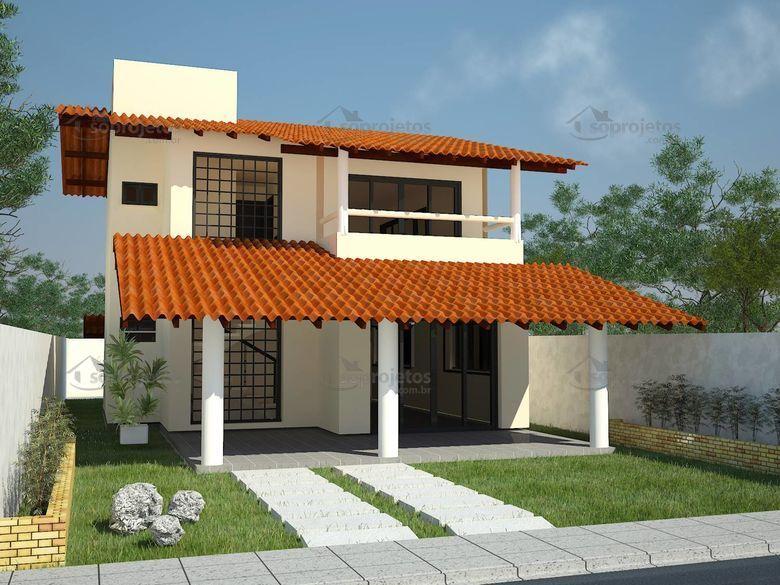 Como escolher o melhor tipo de telhado para a sua s for Modelos de casa para construir