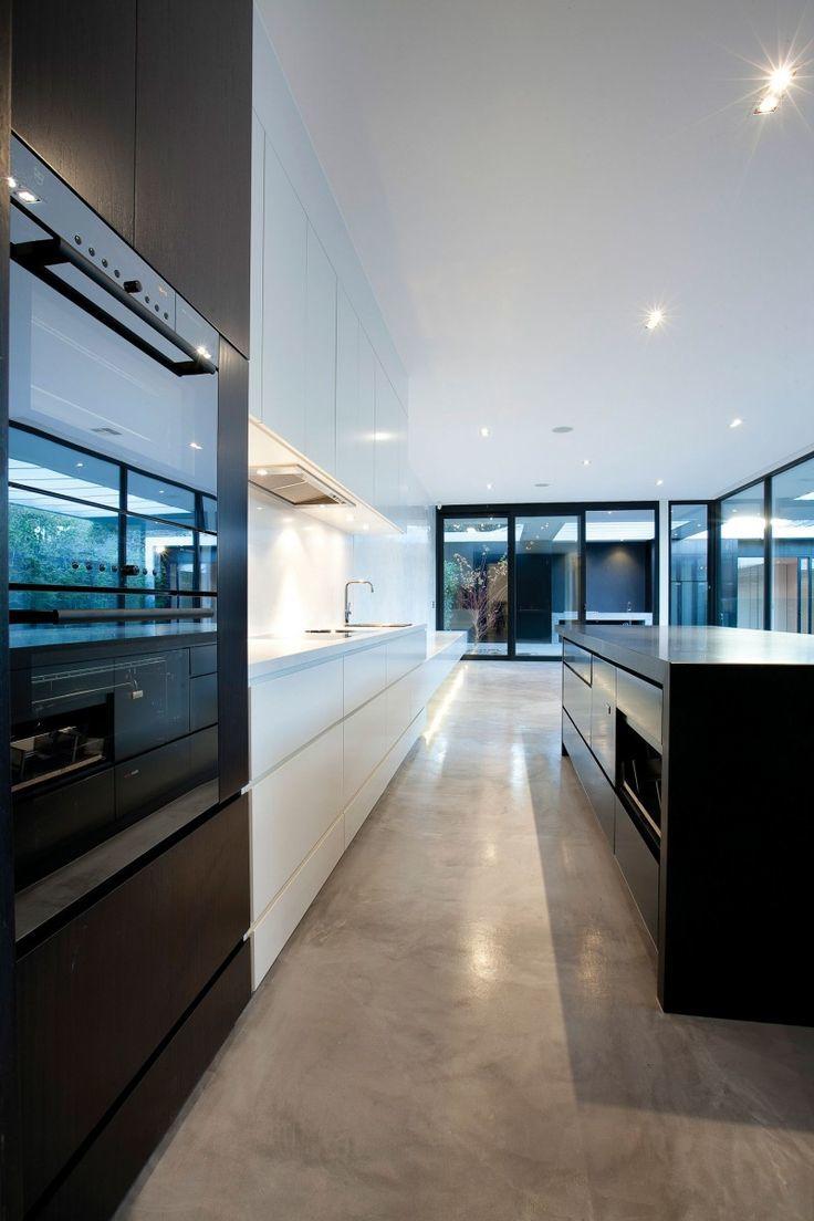 Como escolher o piso cimentado na cozinha