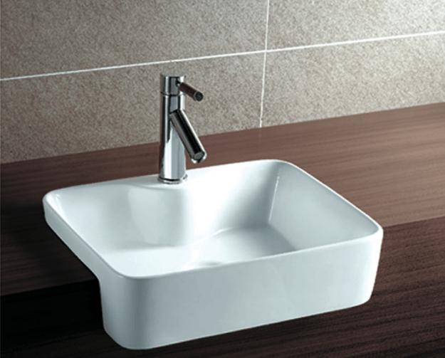4 tipos de cubas para banheiro  Só Projetos Blog -> Pia Banheiro Semi Encaixe