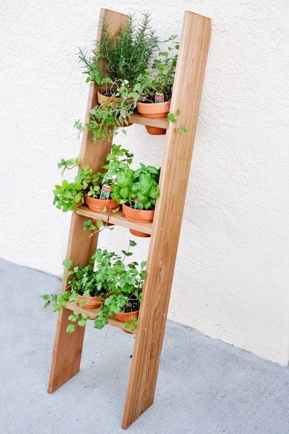 Jardim vertical para áreas externas
