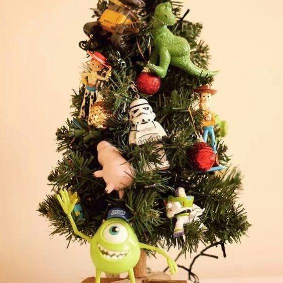 Árvore de Natal Geek infantil