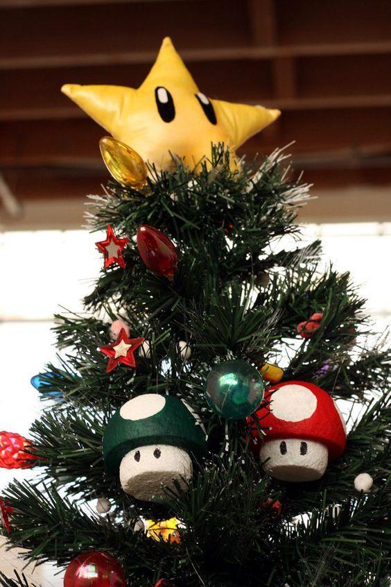 Árvore de Natal Geek do Mário