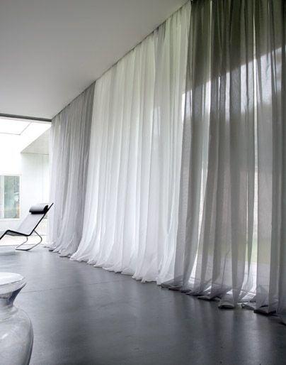 Tipos de cortinas para sua casa s projetos blog - Tipos de cortinas ...
