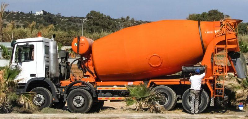 Caminhão Betoneira, para concreto usinado