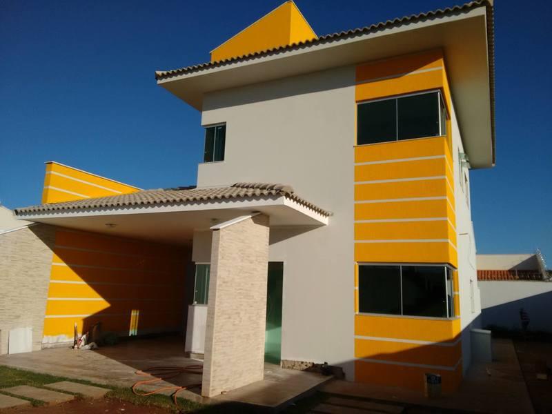 Construção do Sobrado com 3 quartos com escritório Cód 90