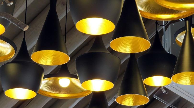 Luminárias na decoração