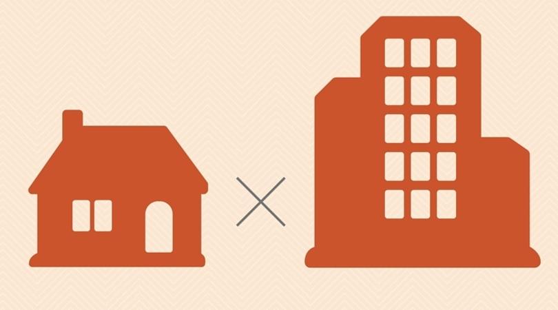 O que é melhor, construir uma casa ou comprar um apartamento.
