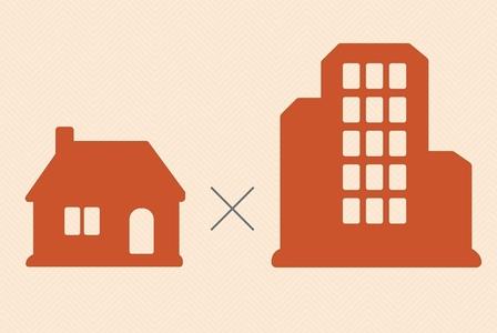 Construir uma casa ou comprar um apartamento