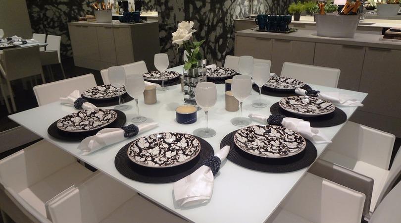 Tamanho de mesa ideal para sua família