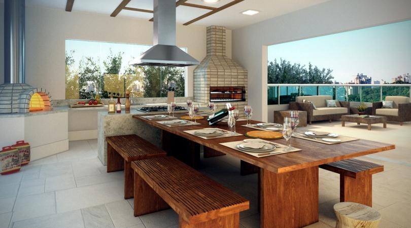 Projetos de casas com varanda gourmet