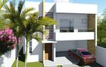 Planta de casa duplex 3 suítes com varanda gourmet - Cód. 140