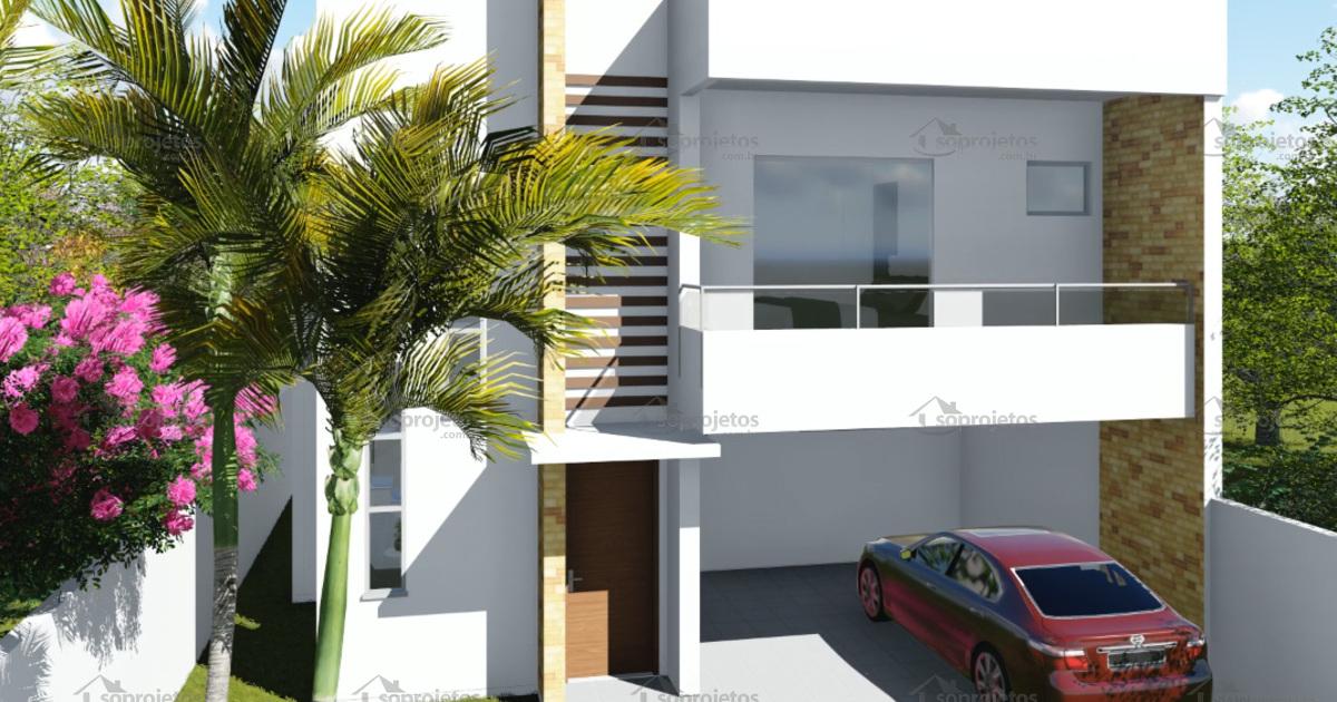 Planta de casa duplex 3 su tes com varanda gourmet s for Modelo de casa townhouse