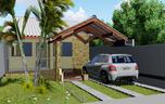 Projeto de casa Popular e Moderna - Cód. 146