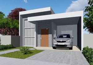 Térreo com 115 m²,  2 quartos + 1 suíte - Cód. 153