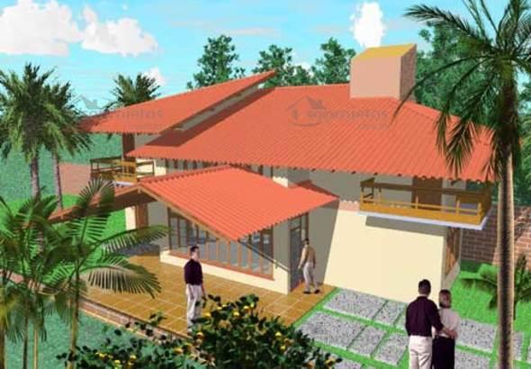 fachada da casa Vivendo com Harmonia cod 38