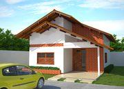 Projeto de casa popular com 80 m2 - Cód. 66