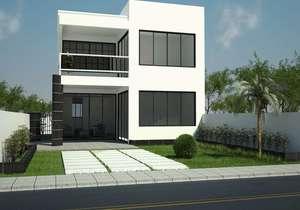 Projeto de casa com ampla sala de estar - Cód. 82