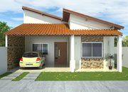 Projeto de Casa 2 Suites + 1 Quarto - Cód. 99