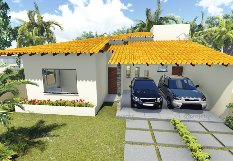 planta-de-casa-terrea-com-3-quartos-e-varanda-gourmet-cod-104-foto-1
