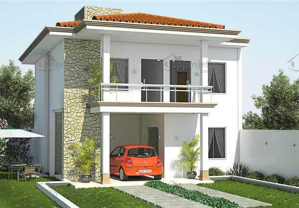 fachada sobrado-mediterraneo cod 105