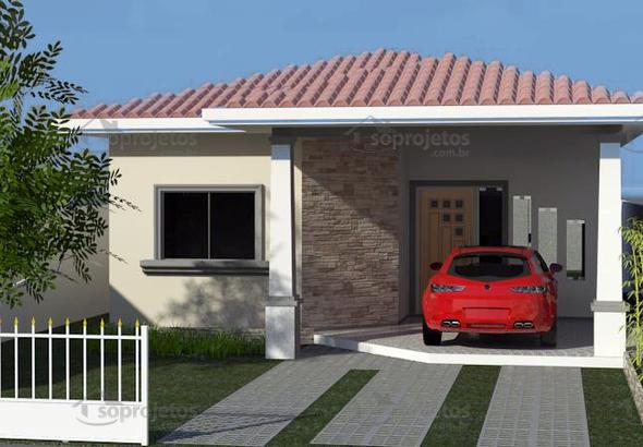fachada CasaModerna cod 107