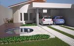 Planta de casa térrea 10x24 - Cód. 112